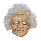 Masker Old Woman Latex