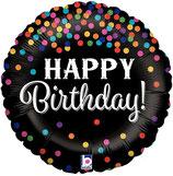 Folieballon Birthday Confetti