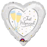 Just Married Folieballon