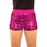Hotpant Roze Paillet