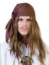 Pruik Piraat + Bandana