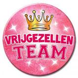 Button XL vrijgezellen team Vrouw