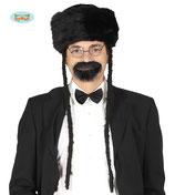 Orthodox hoed met krullen
