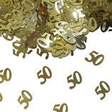 Gouden Tafelconfetti 50 Jubileum