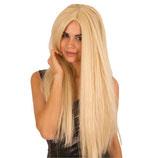 Pruik Lang Blond