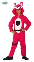 Pink Bear Kids Kostuum