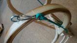 Zugschnur oder Zugband mit Karabiner für Hörnerrodel