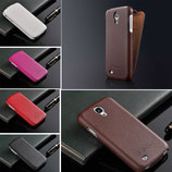 Etui haut de gamme en cuir pour Samsung Galaxy S4 i9500 i9505