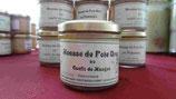 Mousse de foie gras au confit de mangue