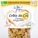 Crête de coq citron-gingembre 250gr