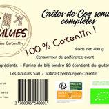 Crete Rigate semi-complètes Bio sachet 400gr
