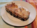 * Lasagnes de blé noir saumon épinards (1 part)