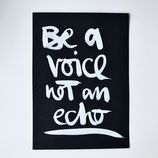 "Formart Original - ""be a voice not an echo"""