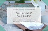 Gutschein im Wert von 50 Euro