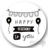 Sticker HappyB-day to you