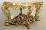 Insieme composto da specchiera e console - XIX secolo