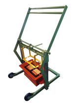 Máquina bloques manual 1 , 2 piezas