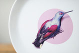 Bord 28 cm - Vogel (inclusief stijlvolle cadeauverpakking)