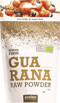 Purasana Guarana Raw Powder (100g Pulver)