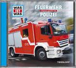 WAS IST WAS Hörspiel-CD: Feuerwehr/Polizei
