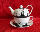 Jameson & Tailor Teekanne und Tasse Design Love Cats