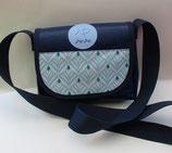 Dogi Bag - de Luxe - Elegance - Umhängetasche mit blauen Träger
