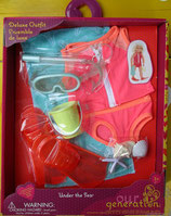 Schwimm Bekleidung für Stehpuppe von OG Doll - für Kinder ab 3 Jahre