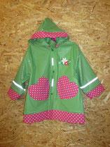 Trachtig - grün/weiß kariert mit pink/weißen Tupfen