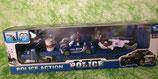 Police mit Anhänger und div. Fahrzeugen - versch. Sorten - für Kinder ab 5 Jahre