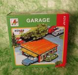 Garage aus Blech mit Schiebetor - für Kinder ab 5 Jahre