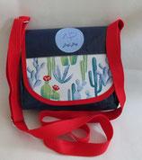Dogi Bag - de Luxe - Sommer - Umhängetasche mit roten Träger