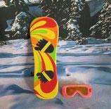 Snowboard mit Schibrille von Heless