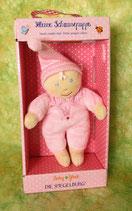 Kleine Schmusepuppe - Baby Glück - rosa - ca. 15 cm