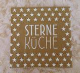 Serviette Sterne Küche - la vida