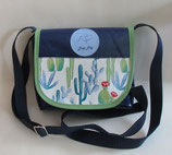 Dogi Bag - de Luxe - Sommer - Umhängetasche mit blauen Träger