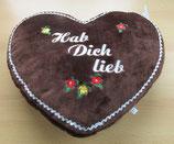 Deko Kissen Lebkuchen Herz groß