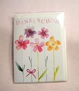 """Mini-Karte """"Danke Schön"""""""