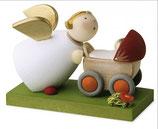 Schutzengelchen mit Puppenwagen