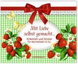"""Stickerbuch """"Mit Liebe selbst gemacht"""""""