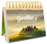 Spiralaufstellbuch: 365 x Goethe für jeden Tag