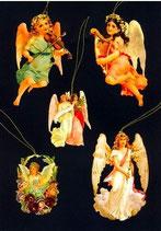 Geschenkanhänger Glanz-Reliefbilder Engel