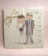 """Relief-Karte """"Wedding-Paar"""""""