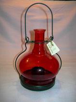 Laterne 'Finca' für Teelicht rot