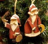 Nikolaus-Hänger aus Holz