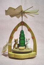 Mini-Pyramide Katzen - Wärmespiel