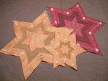 Weihnachts-Deckchen Sterne