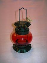Kleine Laterne für Teelicht rot