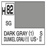 Mr Hobby Aqueous Hobby Colour  Dark Gray [1] (US) COD: H82