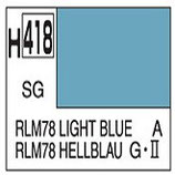 Mr Hobby Aqueous Hobby Colour  RLM78 Light Blue COD: H418