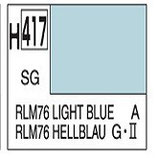Mr Hobby Aqueous Hobby Colour RLM76 Light Blue COD :H417